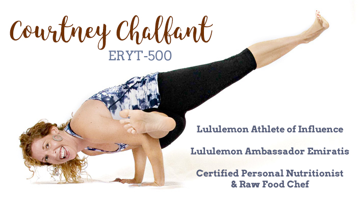 Courtney Chalfant Athelete Ambasador Chef Yahweh Yoga