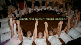 Yahweh Yoga Teacher Training Schedule